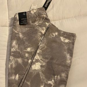 Brand New Tie Dyed Express Jeans
